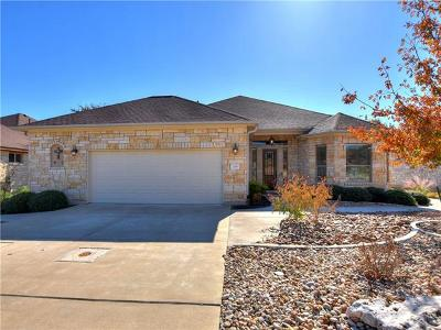 Georgetown Single Family Home Pending - Taking Backups: 708 Palo Duro Canyon Trl