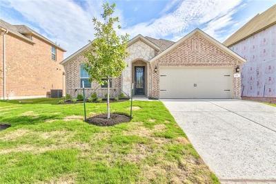 Leander Single Family Home For Sale: 429 Mistflower Springs Dr