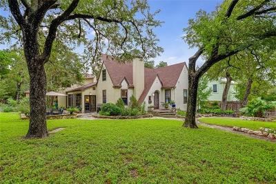 Austin Single Family Home For Sale: 1503 Forest Trl