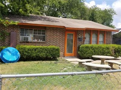 Austin Single Family Home Pending - Taking Backups: 1112 Lily Ter