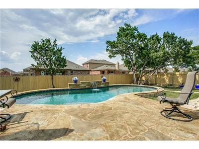 Leander Single Family Home For Sale: 1809 Greening Way