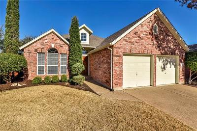 Cedar Park Single Family Home Pending - Taking Backups: 1807 Nelson Ranch Loop