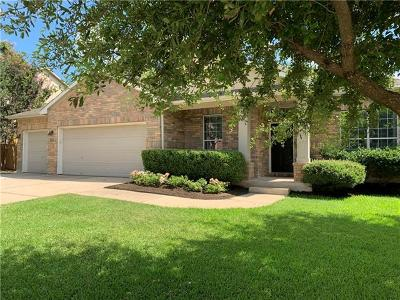 Cedar Park Single Family Home For Sale: 315 Water Oak Dr