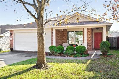 Hays County, Travis County, Williamson County Single Family Home Pending - Taking Backups: 2217 Marcus Abrams Blvd