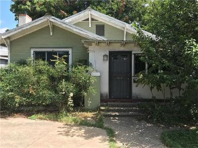Travis County, Williamson County Single Family Home For Sale: 2008-2016 Cesar Chavez St