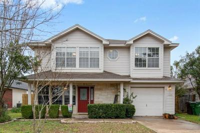 Round Rock Single Family Home Pending - Taking Backups: 1605 Catherine Ct