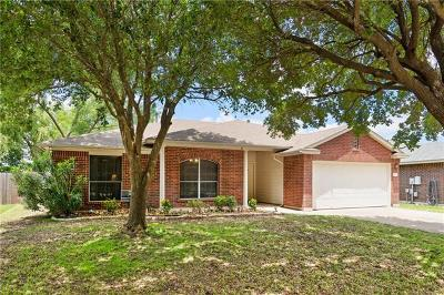 Round Rock TX Single Family Home Pending - Taking Backups: $226,500
