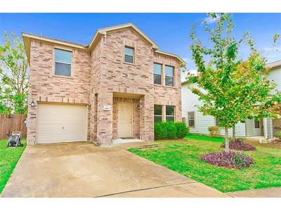 Hays County, Travis County, Williamson County Single Family Home Pending - Taking Backups: 8608 Cureton Cv