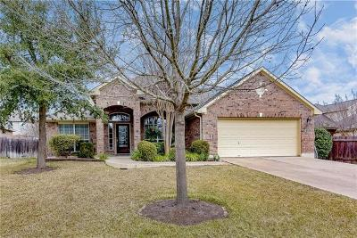 Cedar Park Single Family Home Pending - Taking Backups: 506 Rummel Ranch Run