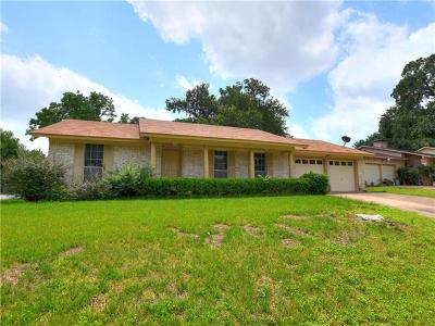 Austin Single Family Home For Sale: 2517 Berkeley Ave
