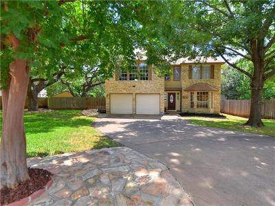 Travis County, Williamson County Single Family Home Pending - Taking Backups: 13303 Montaque Cv