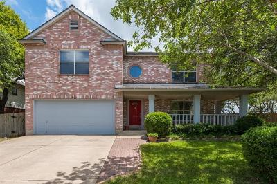 Cedar Park Single Family Home For Sale: 1120 Welch Way