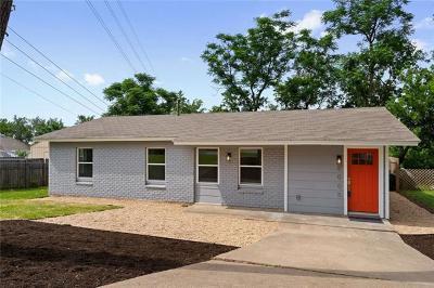 Single Family Home For Sale: 5005 Mendoza Dr