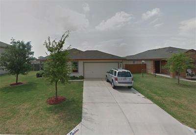 Hutto Single Family Home For Sale: 1007 Warbler Cv