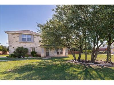 Liberty Hill Single Family Home Pending - Taking Backups: 217 Polo Pony