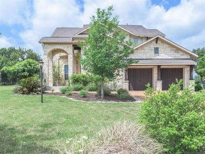 Lakeway Single Family Home For Sale: 210 Mia Dr