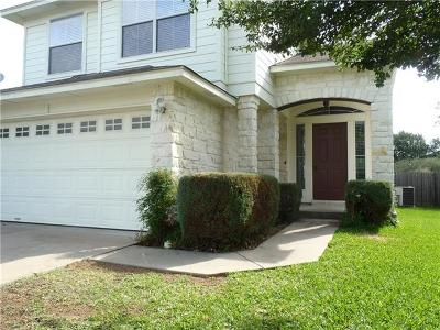 Leander Single Family Home For Sale: 1306 Mojave