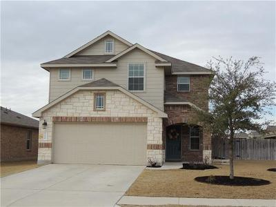 Leander Single Family Home Pending - Taking Backups: 100 Mallard Ln