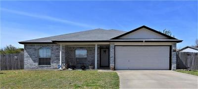 Killeen Single Family Home Pending - Taking Backups: 3402 Huntsman Cir