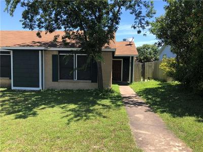Pflugerville Condo/Townhouse Pending - Taking Backups: 1228 Orchard Park Cir