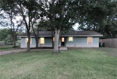 San Marcos Single Family Home For Sale: 605 Dale St
