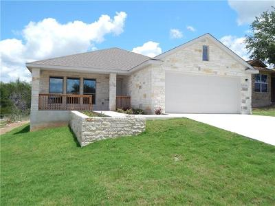 Marble Falls Single Family Home For Sale: 1321 Primrose Ln