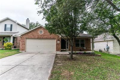 Cedar Park Single Family Home For Sale: 1519 Hawk Dr