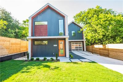 Travis County Single Family Home For Sale: 2804 E 22nd St #A