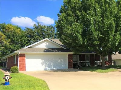 Lampasas Single Family Home For Sale: 1911 Yellowstone Dr
