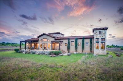 Williamson County Single Family Home For Sale: 160 Via Francesco