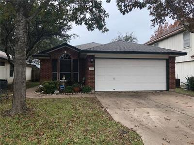 Leander Single Family Home For Sale: 2505 Claudia Dr