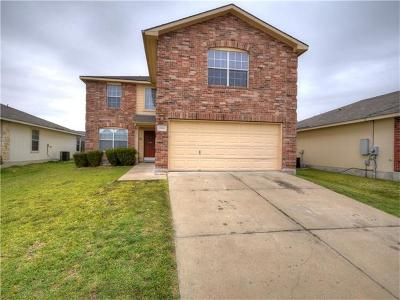 Manor Single Family Home For Sale: 12800 Wedding Dr