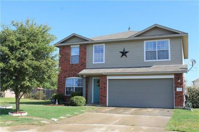 Bastrop County Single Family Home For Sale: 100 Trapper Trl