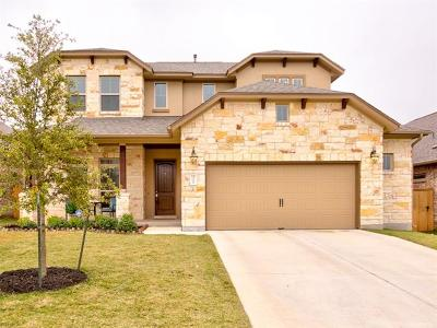 Round Rock Single Family Home For Sale: 3356 Pablo Cir