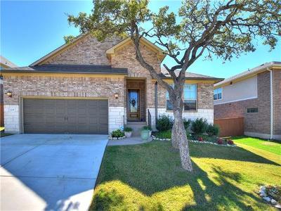 Leander Single Family Home For Sale: 2237 Abilene Ln