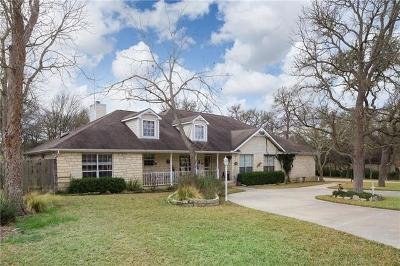 Wimberley Single Family Home For Sale: 132 Augusta Dr