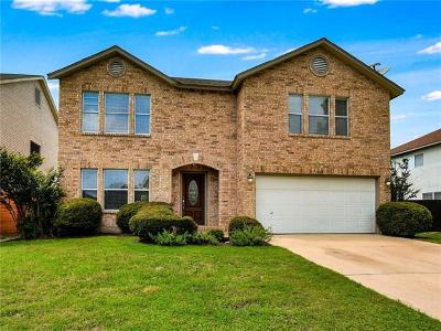 Cedar Park Single Family Home For Sale: 1709 Chinati Ct