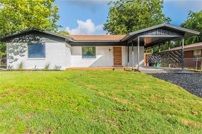 Hays County, Travis County, Williamson County Single Family Home For Sale: 5808 Mojave Dr