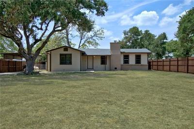 Canyon Lake Single Family Home Pending - Taking Backups: 1368 Cattail