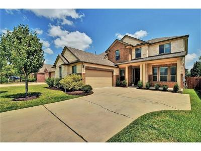 Pflugerville Single Family Home For Sale: 2424 Ambling Trl