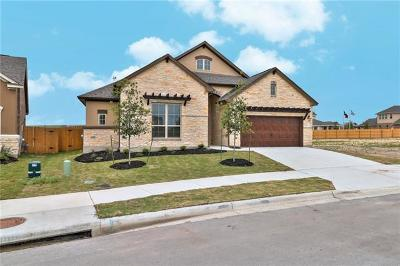 Hutto Single Family Home For Sale: 109 Skylark Ln