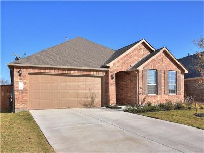 Round Rock Single Family Home For Sale: 3319 De Coronado Trl