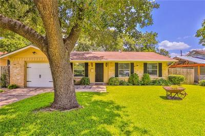 Austin Single Family Home For Sale: 1008 Plymouth Dr
