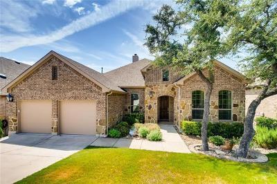 Lago Vista Single Family Home For Sale: 7909 Turnback Ledge Trl