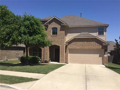 Pflugerville Single Family Home Active Contingent: 20905 Mead Bnd