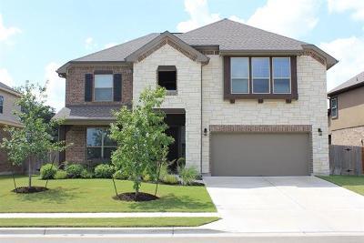 Leander Single Family Home For Sale: 2315 Manada Trl