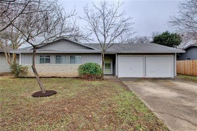 Austin Single Family Home For Sale: 2707 Ashdale Dr