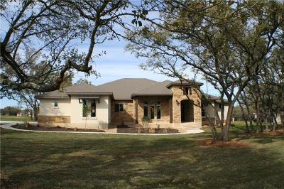 Leander Single Family Home For Sale: 136 Chickasaw Plum Dr