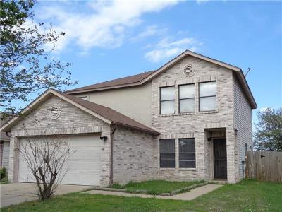 Round Rock Single Family Home For Sale: 1326 Lakeside Loop