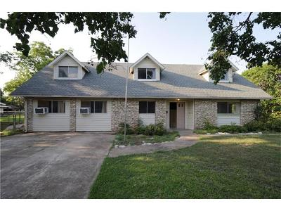 Round Rock Single Family Home For Sale: 610 Lilac Dr